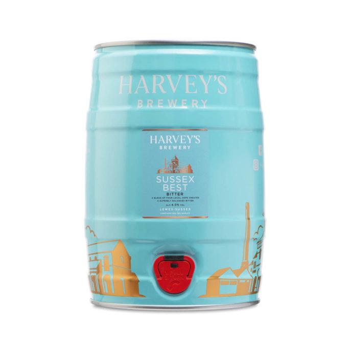 Harveys brewery sussex best bitter 5L