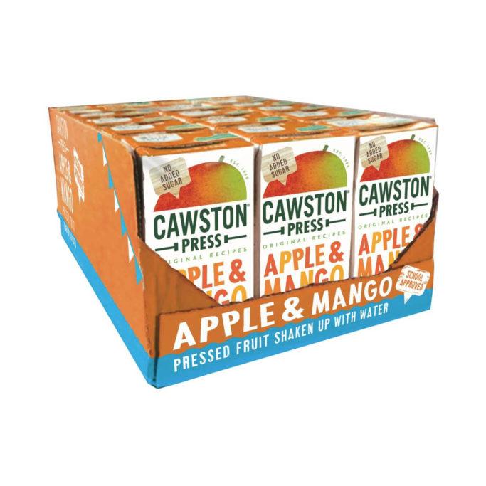 Cawston press mango cartons 18x200ml
