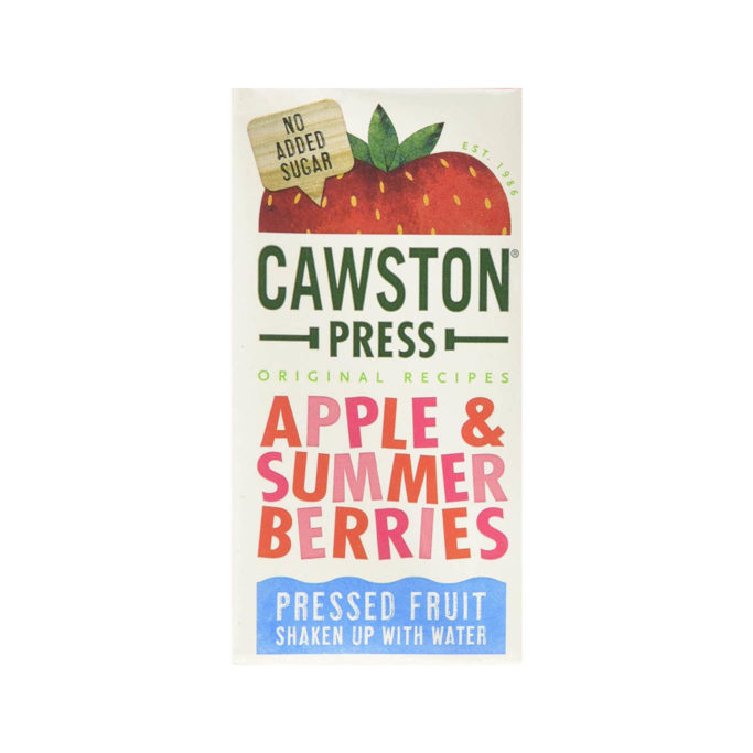 Cawston press summer berries cartons 18x200ml
