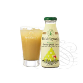 Folkingtons cloudy pear juice 12x250ml
