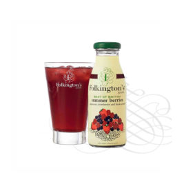 Folkingtons summer berries juice 12x250ml