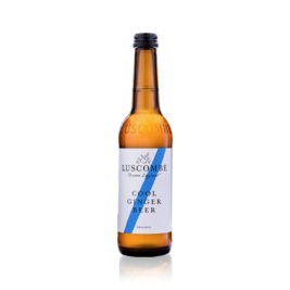 Luscombe farm cool ginger beer 24x27cl