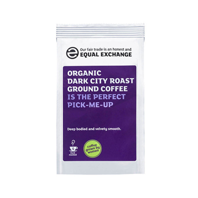 Organic dark roast coffee 227g