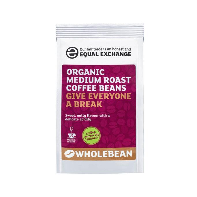 Organic medium roast coffee 227g
