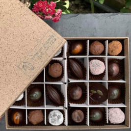 Seasonal box of 24 chocolates