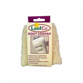 Body loofah scrubber